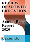Review of Artistic Education - Annual Review Report - 2020